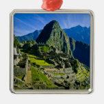 Machu antiguo Picchu, refugio pasado de los 2 Ornamento Para Reyes Magos