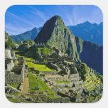 Machu antiguo Picchu, refugio pasado de los 2 Pegatina