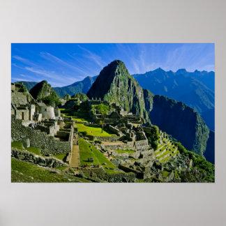 Machu antiguo Picchu, refugio pasado de los 2 Póster