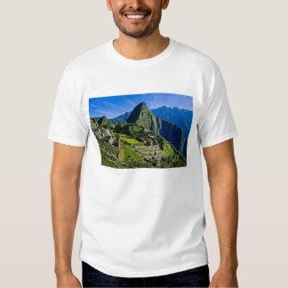 Machu antiguo Picchu, refugio pasado de los 2 Remeras