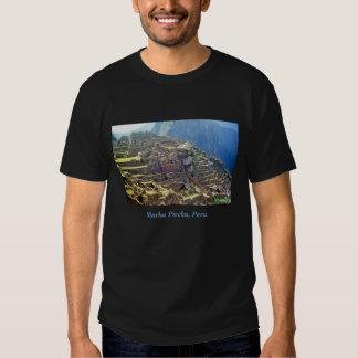 'Machu Picchu 3' dark T Shirt
