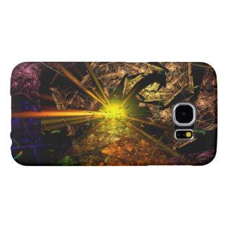 Machu Picchu 3D Optical Illusion Fractal Samsung Galaxy S6 Cases