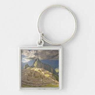 Machu Picchu, ancient ruins, UNESCO world 2 Key Chains