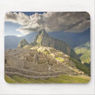 Machu Picchu, ancient ruins, UNESCO world 2 Mouse Pad