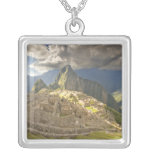 Machu Picchu, ancient ruins, UNESCO world 2 Necklace