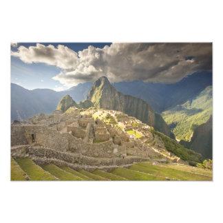 Machu Picchu, ancient ruins, UNESCO world 2 Photograph