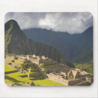 Machu Picchu, ancient ruins, UNESCO world 4 Mouse Pad