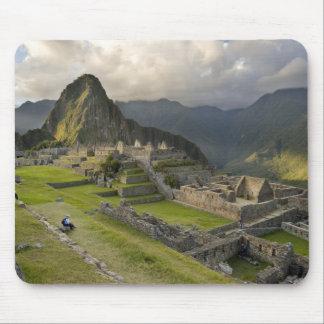 Machu Picchu, ancient ruins, UNESCO world Mouse Pad