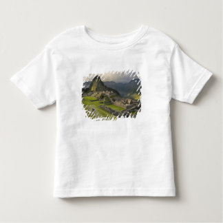 Machu Picchu, ancient ruins, UNESCO world Toddler T-shirt