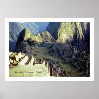 'Machu Picchu at Dawn' Poster