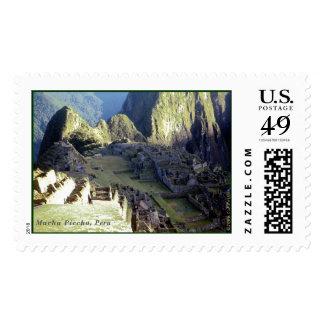 'Machu Picchu at Dawn' Stamps