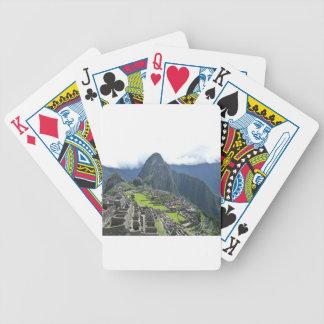 Machu Picchu Bicycle Playing Cards
