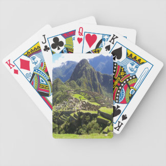 Machu Picchu Bicycle Playing Cards