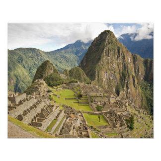 Machu Picchu, ciudad del inca en Perú Fotografía
