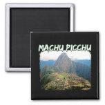 Machu Picchu - Huayna Picchu Peru Ruins Magnet