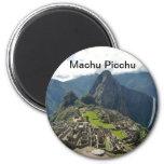 Machu Picchu Imán Redondo 5 Cm