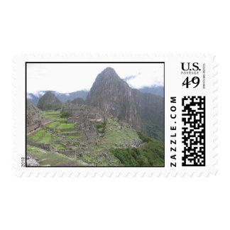 Machu Picchu in Peru Stamp
