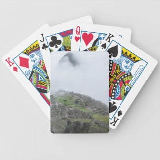 Machu Picchu In The Clouds Bicycle Playing Cards