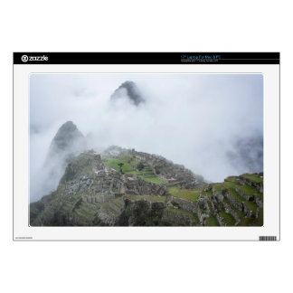 Machu Picchu In The Clouds Decal For Laptop