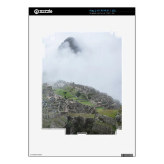 Machu Picchu In The Clouds Decals For iPad 2