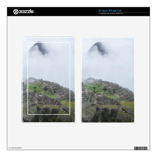 Machu Picchu In The Clouds Decals For Kindle Fire