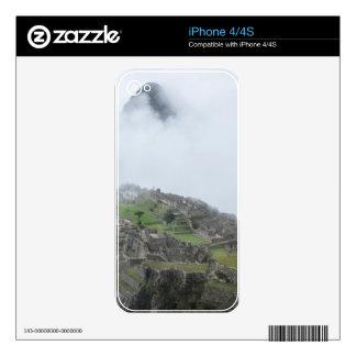 Machu Picchu In The Clouds iPhone 4 Skins