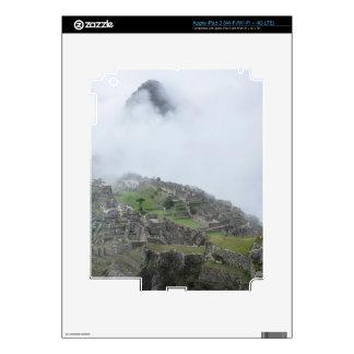 Machu Picchu In The Clouds Skins For iPad 3