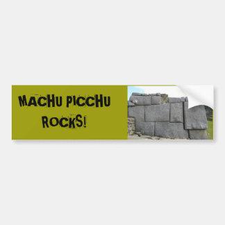 Machu Picchu oscila Bumpersticker Pegatina Para Auto