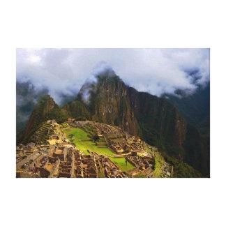 Machu Picchu Overlook, Peru Canvas Print