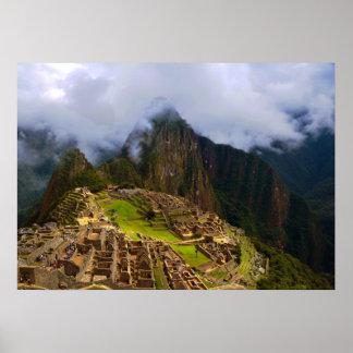 Machu Picchu Overlook, Peru Posters