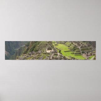 Machu Picchu Panorama Poster