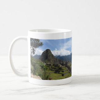 Machu Picchu Panoramic Coffee Mug
