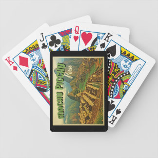 Machu Picchu Peru Bicycle Playing Cards