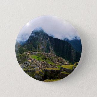 Machu Picchu, Peru Button