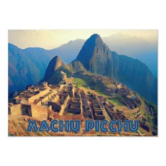 Machu Picchu Peru Card