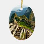 Machu Picchu, Peru Ceramic Ornament