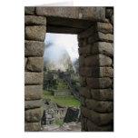 Machu Picchu, Perú Felicitaciones
