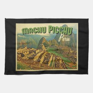 Machu Picchu Peru Hand Towel