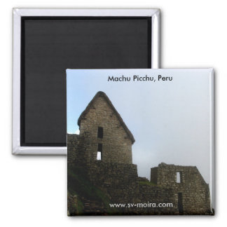 Machu Picchu, Perú Imán Cuadrado