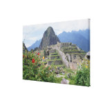 Machu Picchu, Perú Impresión En Tela