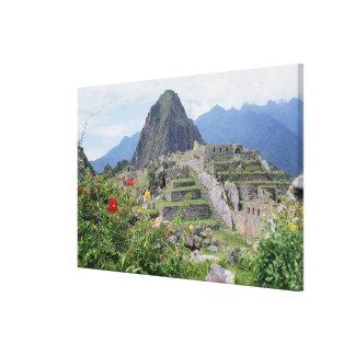 Machu Picchu, Perú Lona Estirada Galerías