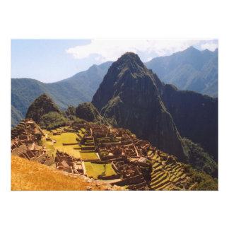 Machu Picchu Perú - Machu Picchu arruina salida Anuncio