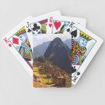 Machu Picchu Peru - Machu Picchu Ruins Sunrise Bicycle Playing Cards