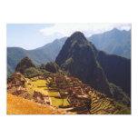 Machu Picchu Peru - Machu Picchu Ruins Sunrise Announcements