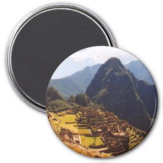 Machu Picchu Peru - Machu Picchu Ruins Sunrise Magnet