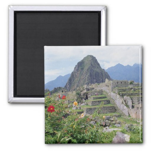 Machu Picchu, Peru Fridge Magnets