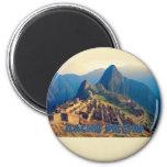 Machu Picchu Peru Magnet