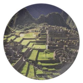 Machu Picchu, Peru Melamine Plate