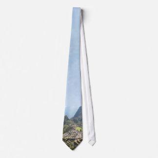 Machu Picchu Peru Neck Tie