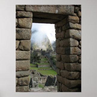 Machu Picchu Perú Impresiones